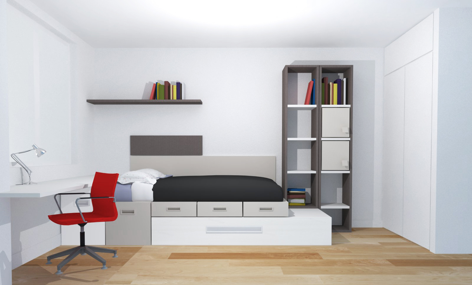 Camas dormitorio juvenil ideas de disenos for Muebles adama